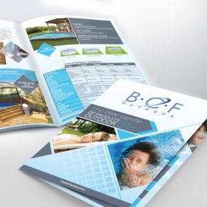 catalogue produits spas pour la marque BCF