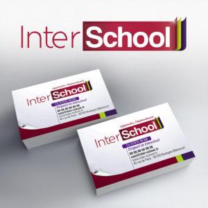 création d'un logo pour une société de soutien scolaire ainsi que sa charte grpahique sous forme de page qui se tourne