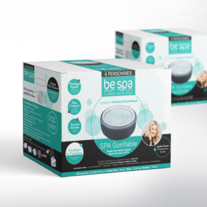 série de packs de la marque be spa pour les spas gonflables